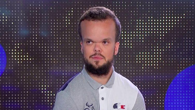 Jeux paralympiques : médaillé d'argent en haltérophilie, Axel Bourlon affiche ses ambitions pour Paris 2024. (FRANCEINFO)