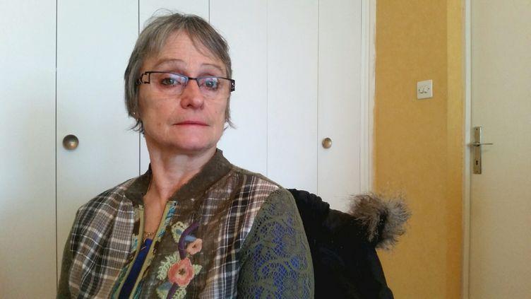 Michèle, victime présumée du violeur de la Sambre (FRANCEINFO / BENJAMIN ILLY)
