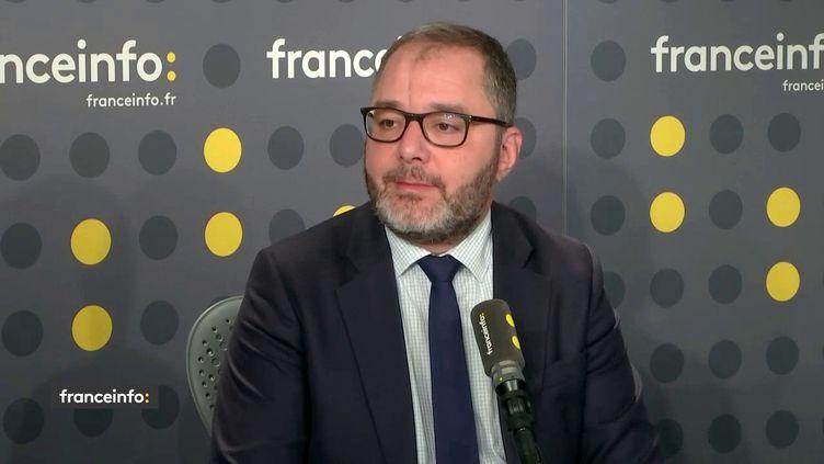 Rachid Temal, sénateur socialiste du Val d'Oise, était l'invité de franceinfo mercredi 3 octobre 2018. (FRANCEINFO)
