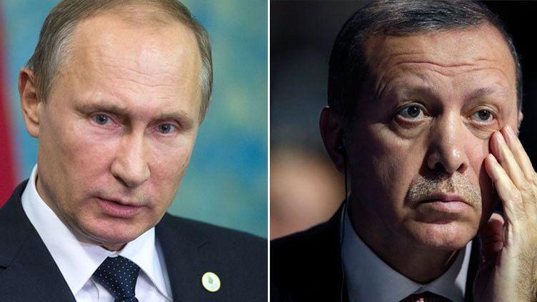 Entre Vladimir Poutine et Recep Tayyip Erdogan, la tension est maximale. (RT)