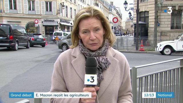 Grand débat : Emmanuel Macron reçoit les agriculteurs