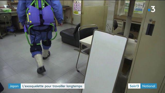 Japon : l'exosquelette pour travailler longtemps