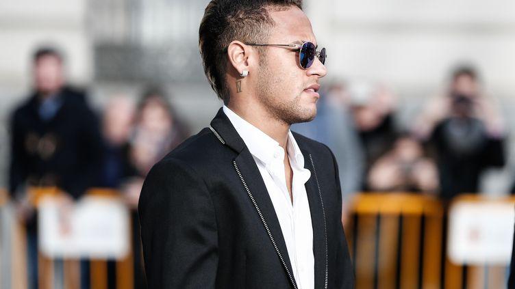 Neymar en février 2016. (BURAK AKBULUT / ANADOLU AGENCY)