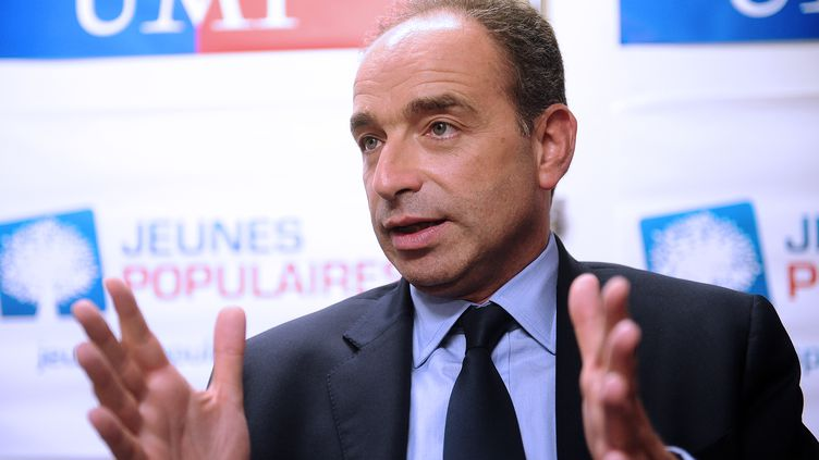 Jean-François Copé, le 24 octobre 2012. (REMY GABALDA / AFP)