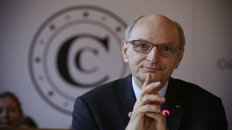 Didier Migaud, le président de la Cour des comptes, présente le rapport public annuel 2014, à Paris, le 11 février 2014. (MAXPPP)