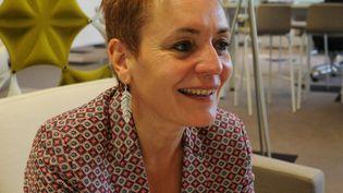 """Florence Dumontier: """"Les personnes que nous avons dans nos portefeuilles sont assez ancrées et accrochées"""". (AGNES DHERBEYS)"""