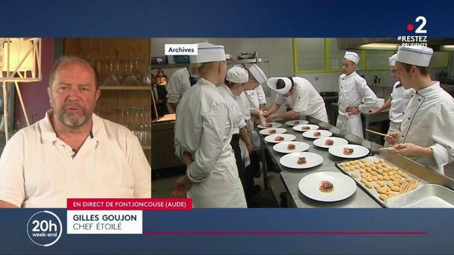 """Restauration : """"On nous impose des choses que nous ne connaissons pas"""", déplore le chef Gilles Goujon"""