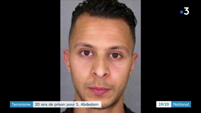 Terrorisme : 20 ans de prison pour Salah Abdeslam