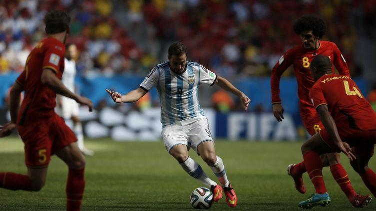 Gonzalo Higuain (ADRIAN DENNIS / AFP)