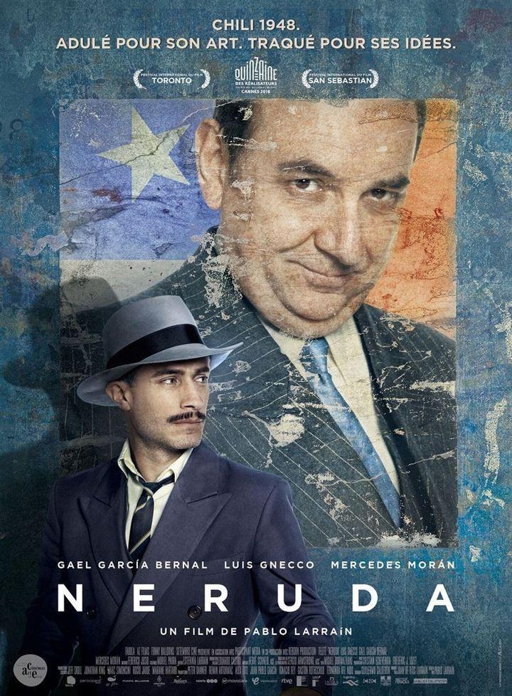 """Neruda"" : l'affiche française  (Wild Bunch Distribution)"