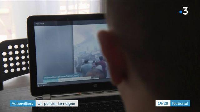 Incendie d'Aubervilliers : un policier témoigne