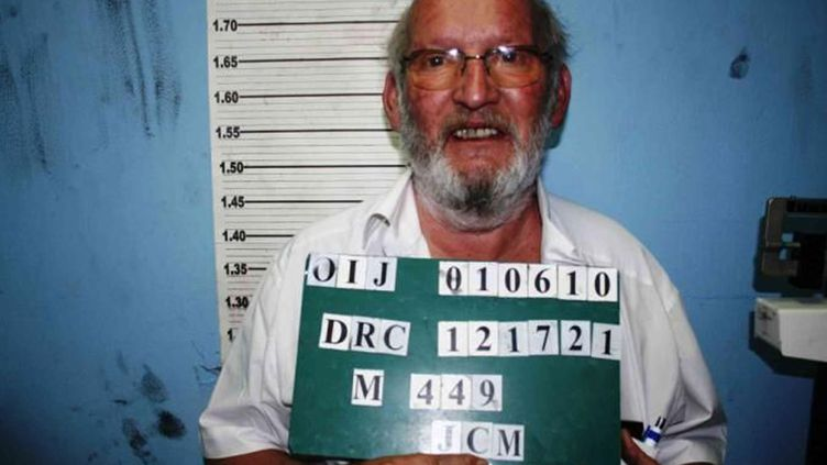 Portrait de Jean-Claude Mas transmis par Interpol. L'organisation le recherchait pour une conduite en état d'ivresse au Costa Rica. (INTERPOL / AFP)