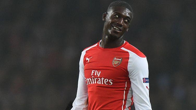 L'attaquant d'Arsenal Yaya Sanogo