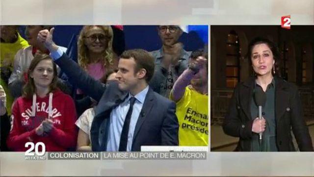 Colonisation : la mise au point d'Emmanuel Macron