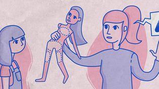 En France, une personne sur dix déclarait avoir été victime d'inceste, dans une enquête de l'institut Ipsos pour l'association Face à l'inceste, publiée en novembre 2020. (ELLEN LOZON / FRANCEINFO)