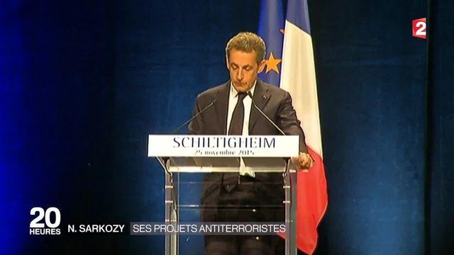 Politique : pour Nicolas Sarkozy l'état d'urgence arrive trop tard