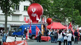 La manifestation despersonnels des hôpitaux mardi 11 juin à Paris. (SADAK SOUICI / LE PICTORIUM / MAXPPP)