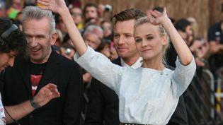 Ses instants Narta. Celui-ci vous est offert par l'actrice allemande Diane Kruger, membre du jury. (LOIC VENANCE / AFP)
