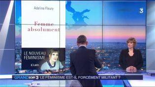 Adeline Fleury, auteur de Femme absolument chez Lattès (France 3)