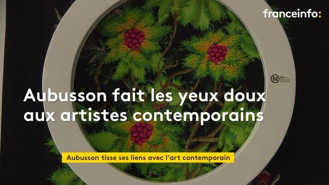 Quand les artistes contemporains bousculent la tapisserie d'Aubusson
