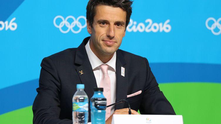 Tony Estanguet,  co-président du comité de candidature.Paris-2024 (EDDY LEMAISTRE / 2PIX-EL)