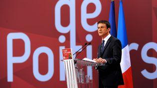 Le Premier ministre Manuel Valls, le 6 juin 2015 à Poitiers (Vienne). (GUILLAUME SOUVANT / AFP)