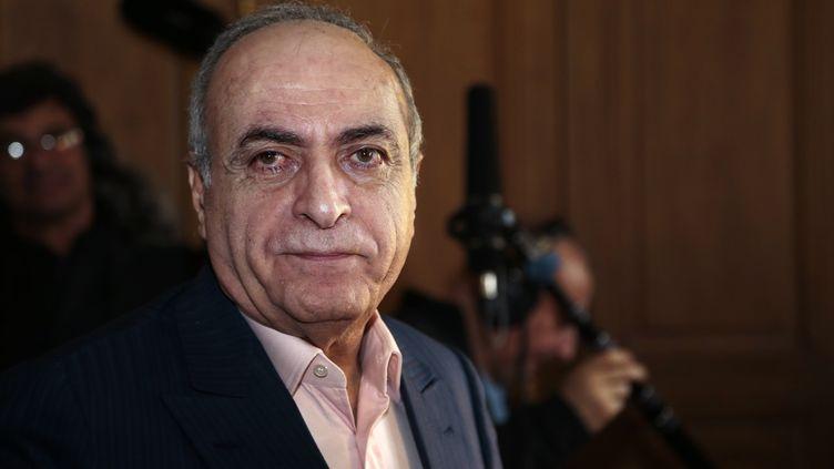 Ziad Takieddine le 12 avril 2013 à Paris. (JACQUES DEMARTHON / AFP)