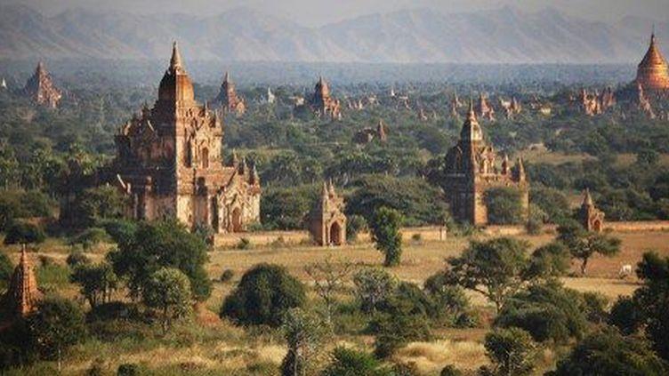 Le site des pagodes de Bagan, en Birmanie. (AFP)