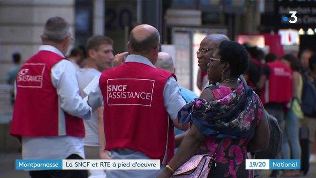 Gare Montparnasse : la SNCF et RTE à pied d'œuvre
