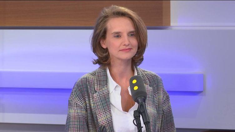 Céline Calvez, députée LREM des Hauts-de-Seine, était l'invité de franceinfo. (FRANCEINFO / RADIOFRANCE)