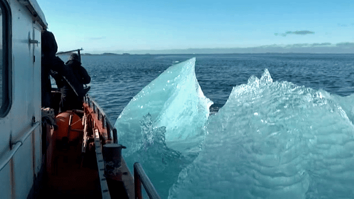 La pêche aux icebrgs au Groenland  (France 3 / Culturebox)