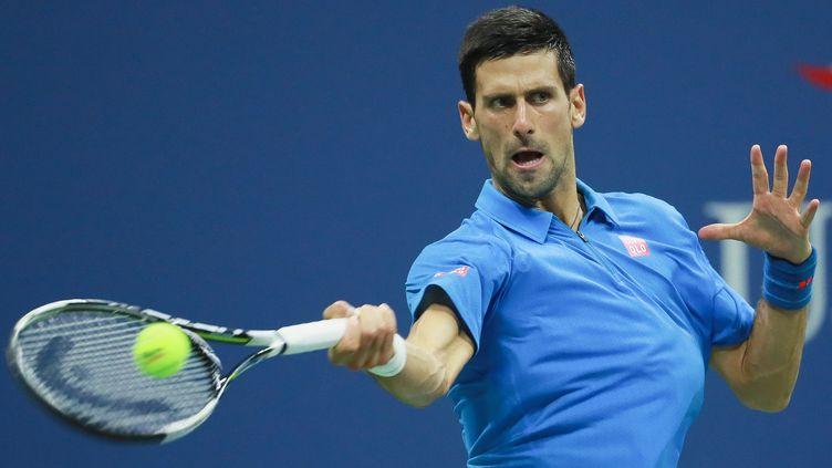 Le Serbe Novak Djokovic (MICHAEL REAVES / GETTY IMAGES NORTH AMERICA)