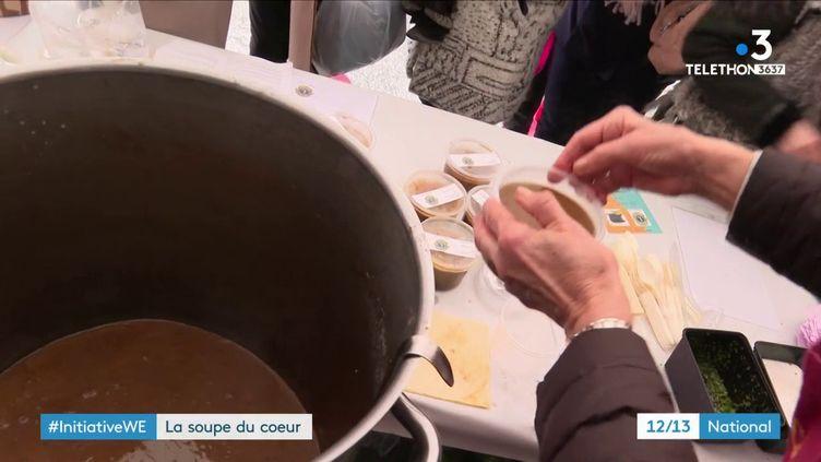 Annecy : La Soupe du cœur aide à mieux accueillir les enfants à l'hôpital  (FRANCE 3)