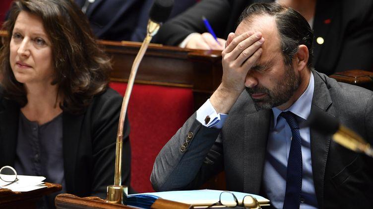 Edouard Philippe à l'Assemblée nationale le 13 février 2018. (GERARD JULIEN / AFP)