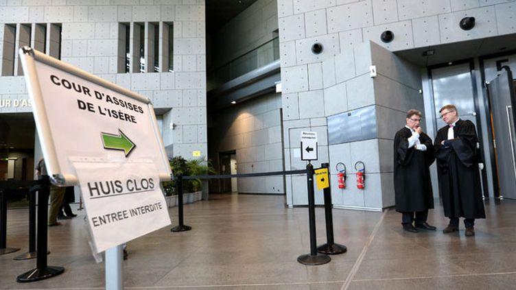 (Le procès de la rixe mortelle d'Echirolles se tient à huis clos jusqu'au 11 décembre © MaxPPP)