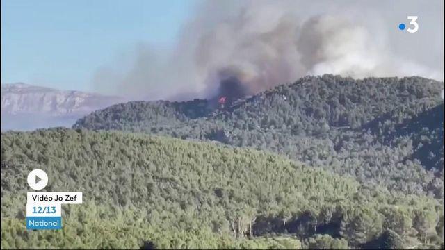 Bouches-du-Rhône : le feu maitrisé à Auriol, après avoir parcouru 90 hectares