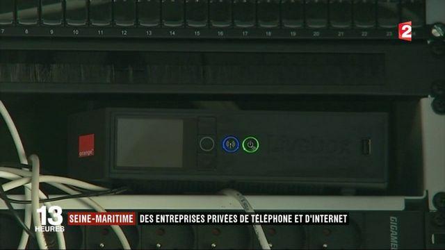 Seine-Maritime : des entreprises privées de téléphone et d'internet
