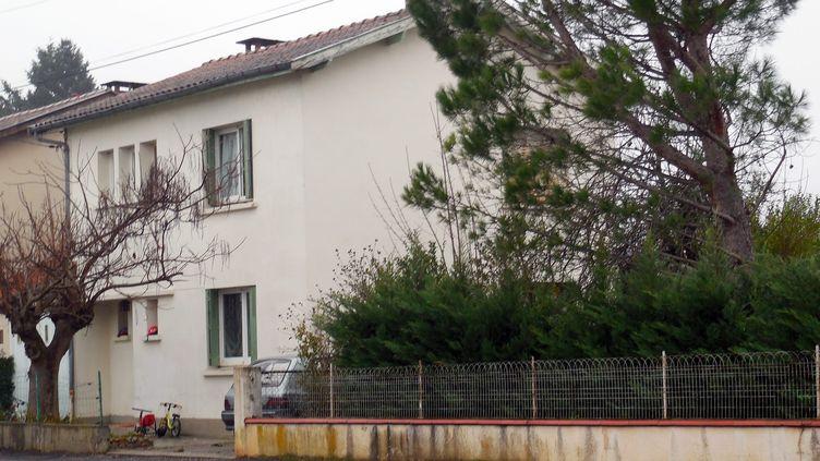 La maison de la mère d'un des jihadistes présumé, à Graulhet (Tarn), le 15 décembre 2014. (MAXPPP)