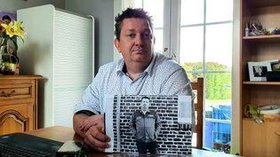 Francky Cagniart, 45 ans, a passé 18 ans de sa vie chez Bridgestone.   (MAUREEN SUIGNARD / RADIO FRANCE)