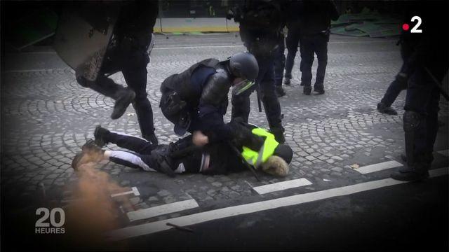 """""""Gilets jaunes"""" : le profil des interpellés sur les Champs-Elysées"""