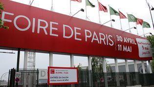 Le vol s'est déroulé après la fermeture de la Foire du Paris, dimanche 11 mai dans la soirée. (CITIZENSIDE / PM HB PRESSE / AFP)