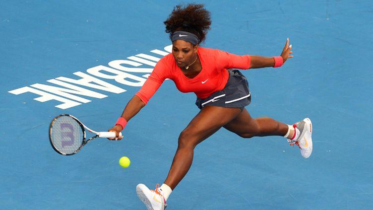 Serena Williams va chercher très loin son coup droit