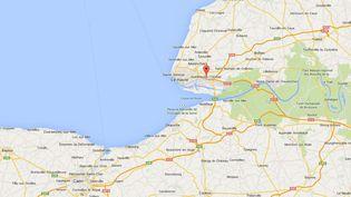 Un homme a été arrêté à Gonfreville-l'Orcher (Seine-Maritime), dimanche 11 mai à l'aube, au volant d'un camion de pompier. ( GOOGLE MAPS / FRANCETV INFO )