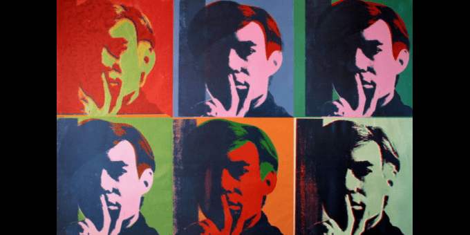 Andy Warhol, Six autoportraits (1967)  (Andy Warhol)