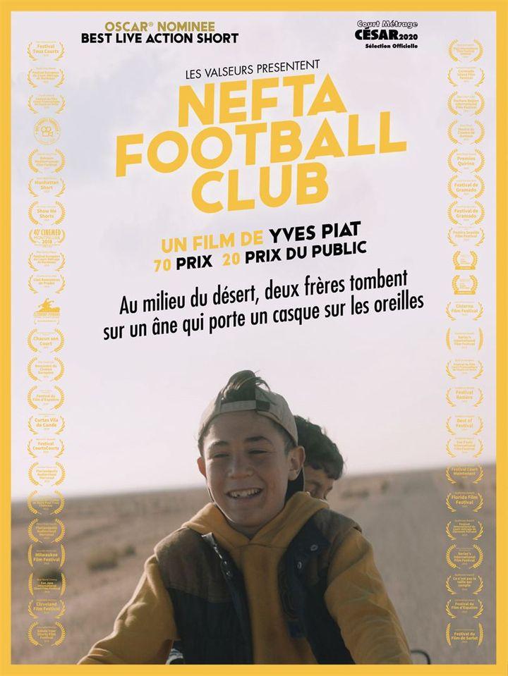 """L'affiche du court-métrage """"Nefta Football Club"""" d'Yves Piat. (LES VALSEURS)"""