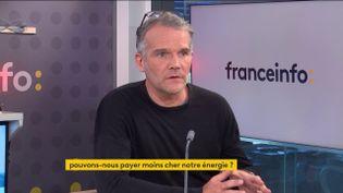 Matthieu Auzanneau, Directeur de The Shift Project, le 4 octobre 2021. (FRANCEINFO / RADIO FRANCE)