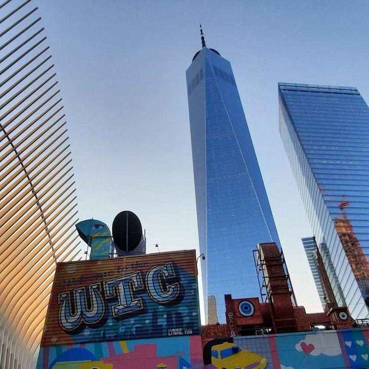 Le One World Trade Center, sur le site de Ground Zero. (BENJAMIN ILLY / RADIO FRANCE)