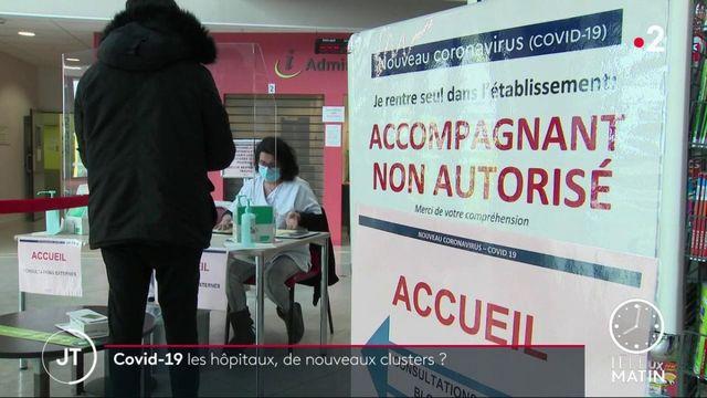 Covid-19 : les hôpitaux, principaux clusters de l'épidémie en France