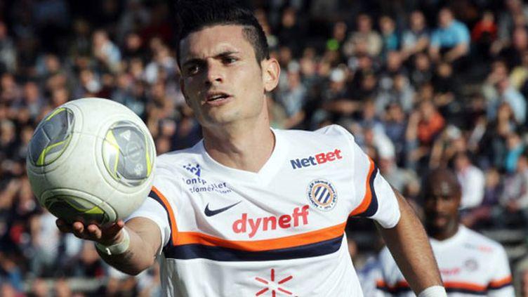 Le joueur de Montpellier Rémy Cabella