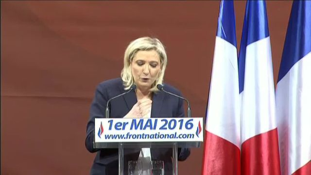 Marine Le Pen appelle ses partisans à utiliser internet pour court-circuiter les médias